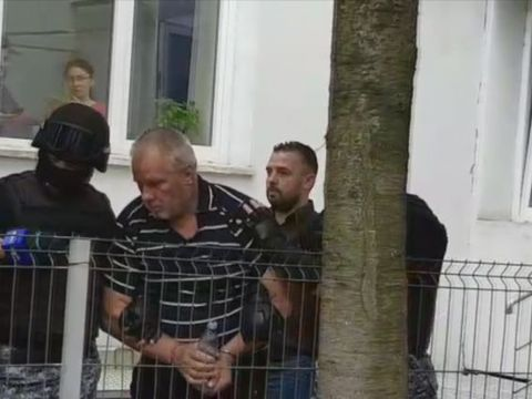 Gheorghe Dincă, adus la Tribunalul Olt! Ce s-a întâmplat cu el