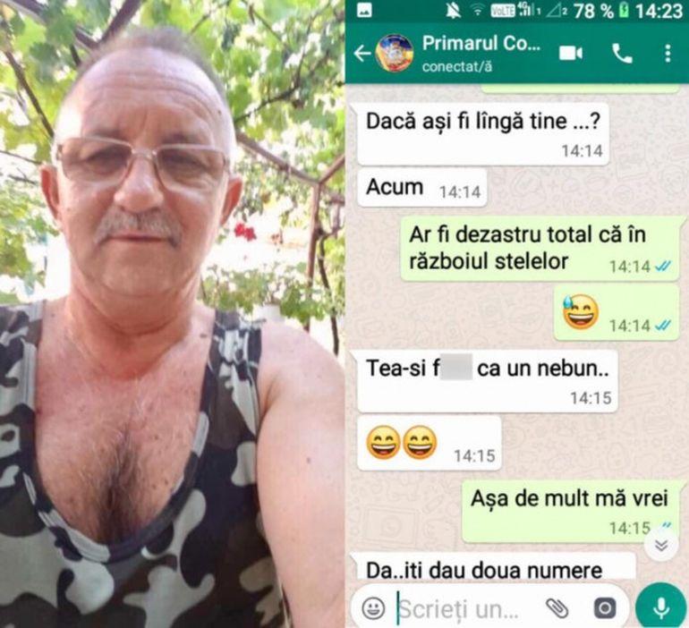 Ea e femeia pe care a vrut să o înşele primarul ce a făcut propuneri sexuale pe facebook! Constantin Cârciumaru e însurat de 40 de ani, iar fiica sa l-a făcut bunic!