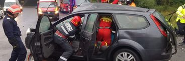 Accident  grav pe DN1! Sunt patru victime, traficul se desfășoară doar pe un sens