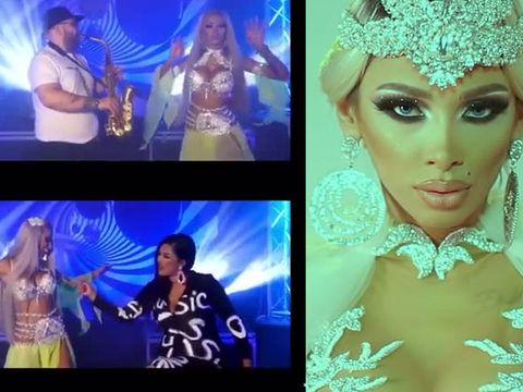 Dansatoarea favorită a maneliștilor i-a întrecut în șmecherie și pe interlopi! Vezi ce a făcut o cântăreață celebră pentru Cristina Pucean Video