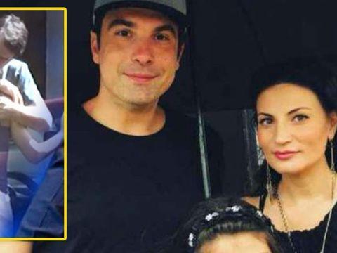 Alexandru Papadopol, surprins sărutându-se cu o brunetă celebră după divorțul de Ioana Ginghină! Cine este vedeta