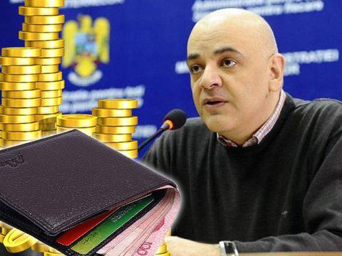 Cât de bogat este Raed Arafat!  Vezi câţi bani încasează pe lună şi ce sumă are în conturi!