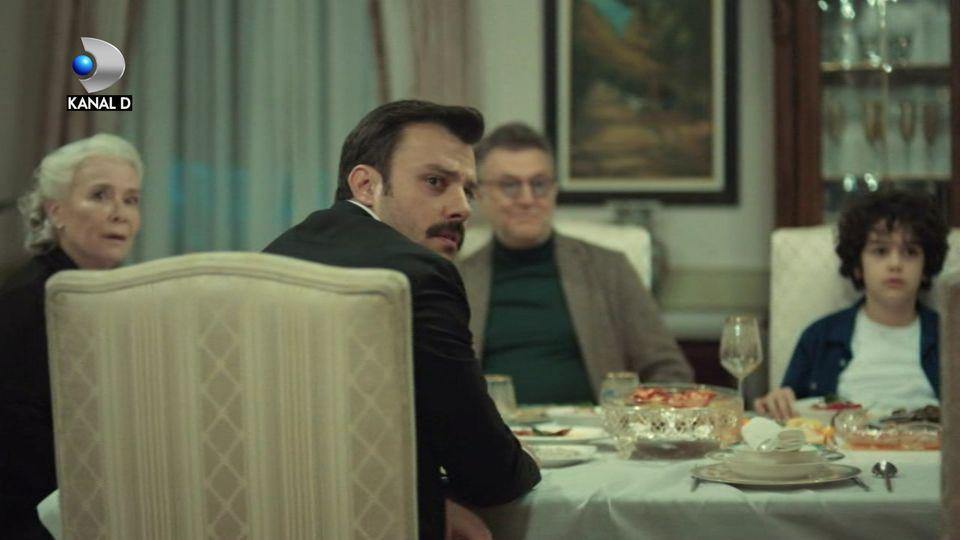 """Faruk, în brațele altei femei, azi, în """"Mireasa din Istanbul"""""""