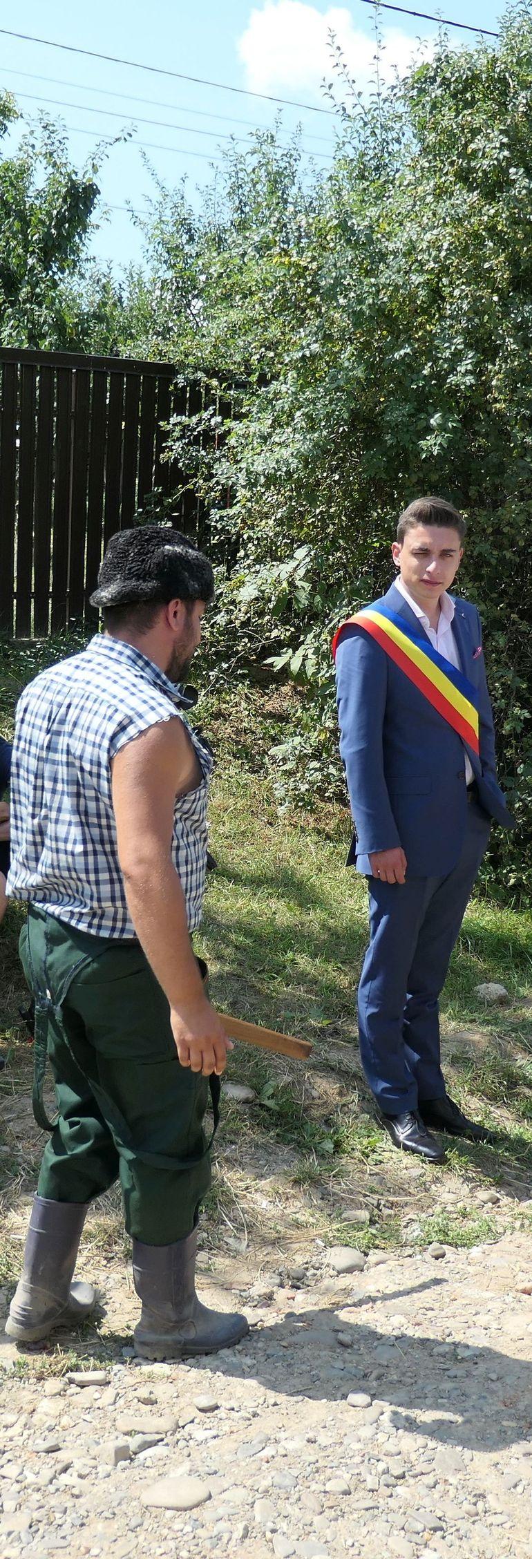 """Radu Ţibulca, alias Ghiţă Şpagoveanu din 'Moldovenii': """"Cand am vazut pentru prima oara o vaca, am zis ca e un dalmatian mare!"""""""