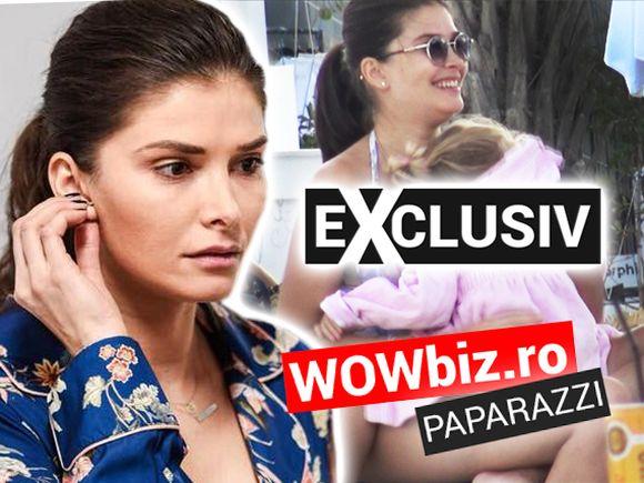 Alina Pușcaș a ieșit la plajă la doar două săptămâni după ce a născut! Ce lăuzie?!!!! Uite-o cum arată în costum de baie! Și-a luat cu ea toți cei trei copii! VIDEO EXCLUSIV