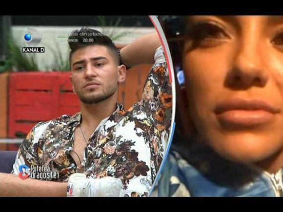 """Bombă la Puterea Dragostei! Roxana și Bogdan Mocanu, scandal imens în fața concurenților: """"Hai te rog să ne împăcăm că te las să mă înșeli cu 5 femei"""""""