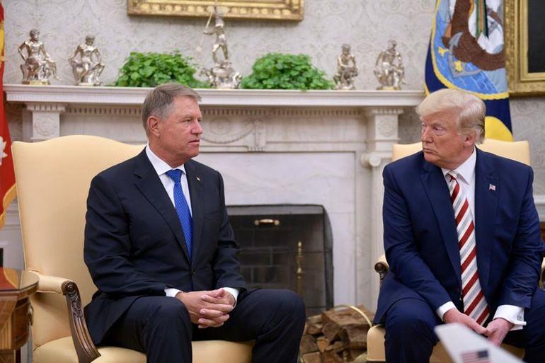 Președintele României, Klaus Iohannis, și Președintele SUA, Donald Trump, au adoptat o declarație comună în urma întâlnirii lor