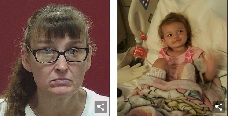 O femeie i-a opărit picioarele nepoatei sale dintr-un motiv halucinant! Ce le-a spus polițiștilor