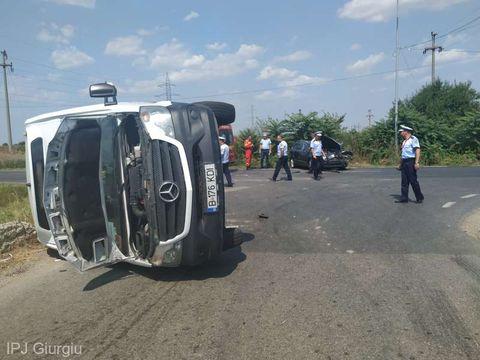 Accident violent în România! O femeie a murit, alte 5 persoane sunt rănite!