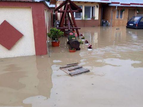Cod portocaliu de inundaţii! Care sunt zonele vizate