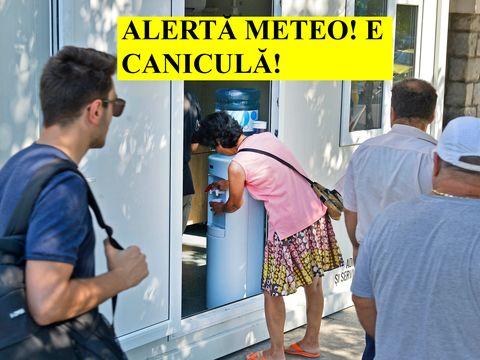 Alerta de caniculă în România a fost extinsă! Anunțul făcut de meteorologi