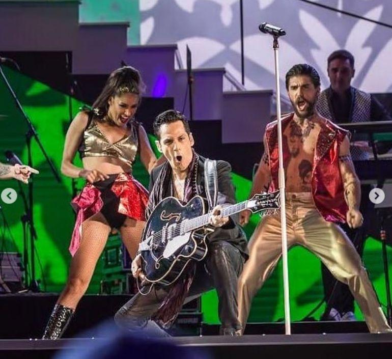 Lavinia Pîrva, alături de Ștefan Bănică Jr. la concertul de la Cerbul de Aur! Nimeni nu a știut că e în sală! Cine crezi că i-a dat de gol?