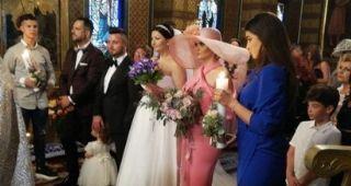 Gabriela Cristea, în lacrimi la nunta ei! Gestul lui Tavi Clonda i-a adus zâmbetul pe buze