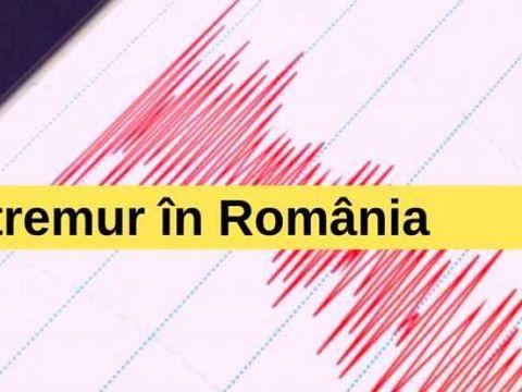 Cutremur puternic în România, în urmă cu puțin timp!