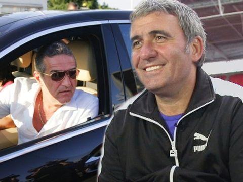 """Gigi Becali a fost şoferul lui Gică Hagi: """"Îl vedeam pe Becali cum îi spală mașina lui Hagi. O usca și după aceea trecea la volan"""""""