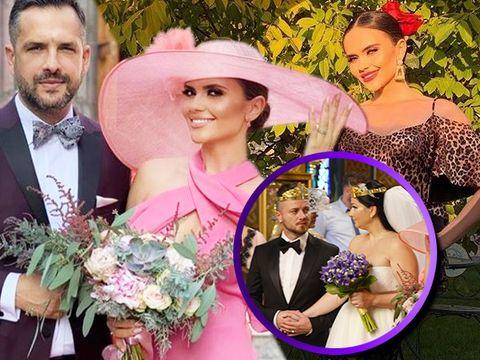 """Cristina Șișcanu, nașa Gabrielei Cristea, despre ținutele purtate la nunta vedetei cu Tavi Clonda! """"Am început cu pălăria"""""""