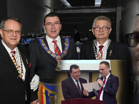 """Alexandru Cumpănaşu este omul masonilor? """"Șeful Masoneriei române a binecuvântat o organizație dubioasă"""""""