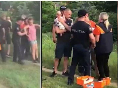 Caz revoltător în Chișinău! Un bebeluș a fost găsit în mijlocul drumului plângând, iar mama lui stătea lângă el. De ce a fost nevoie de intervenția SMURD