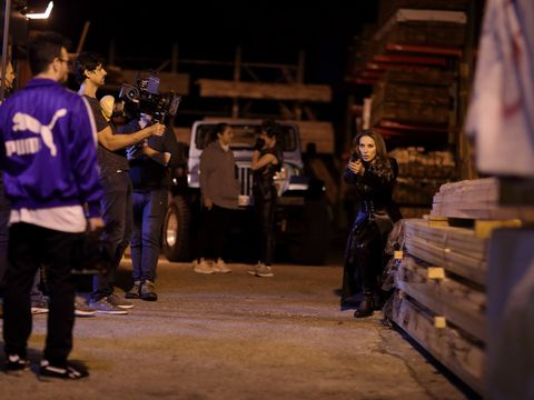 Iulia Vantur joaca intr-un serial de actiune, cu distributie internationala, produs la Londra, de catre o echipa de la Hollywood