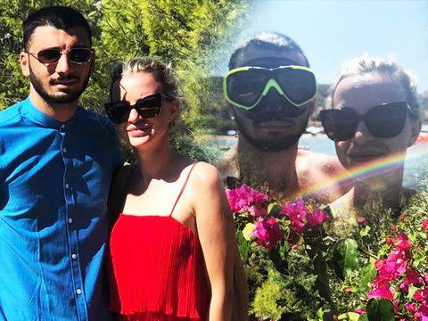 """Larisa de la """"Puterea Dragostei"""", vacanță de vis alături de Adrian! Blondina și-a făcut de cap, în Grecia, într-o adevărată lună de miere"""