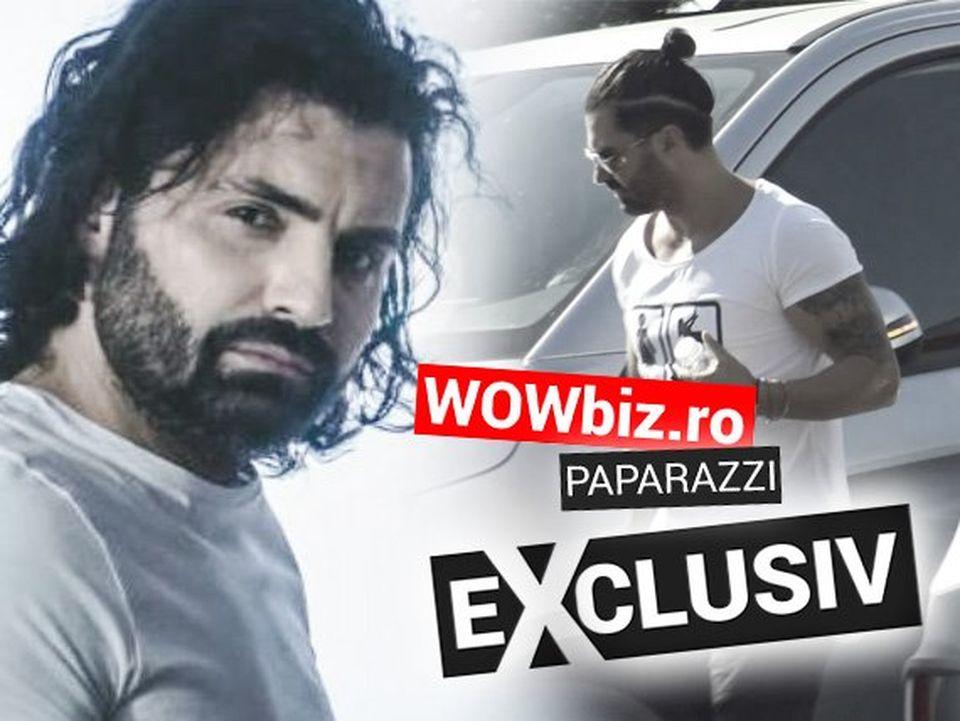 Pepe merge cu microbuzul la mall! Că e artist talentat știm, dar cât de îndemânatic e ca șofer? VIDEO EXCLUSIV