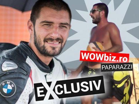 Bine că face motociclism! Cătălin Cazacu, surprins în timp ce joacă volei pe plajă! Video