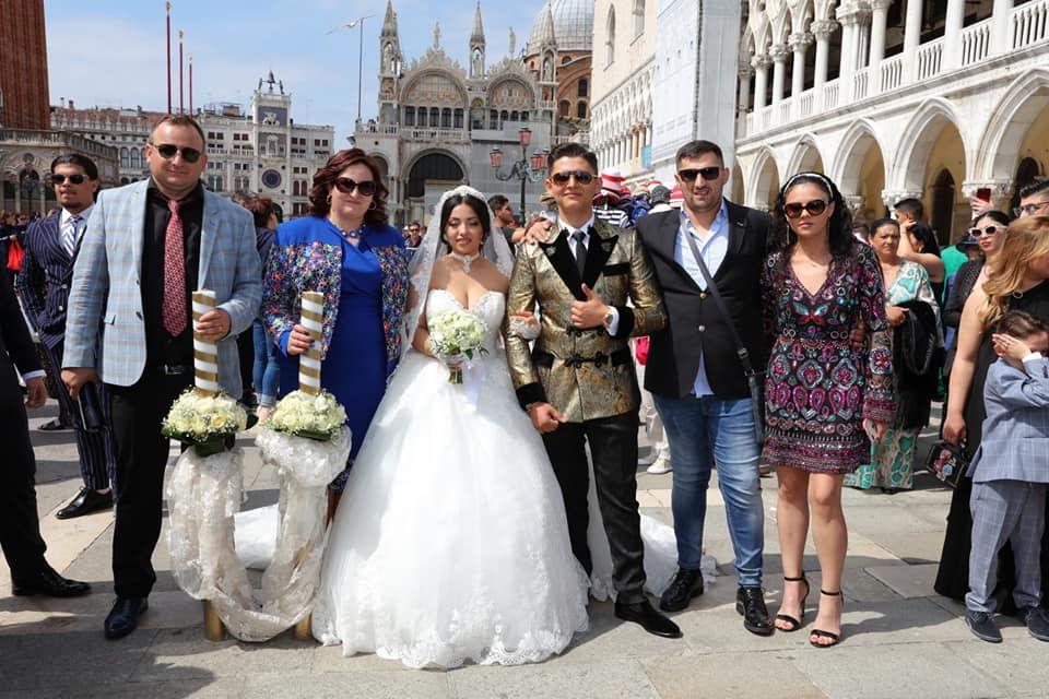 Băiatul lui Nicolae Guță a participat la o nuntă mare în Veneția! FOTO