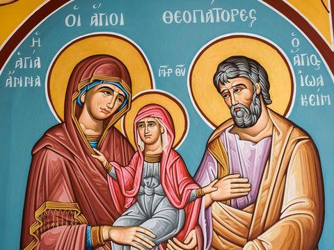 Sărbătoare 9 septembrie: Rugăciune către Sfinții Ioachim și Ana, părinții Maicii Domnului