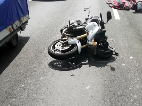 Accident mortal! Un bătrân a fost spulberat de o motocicletă!
