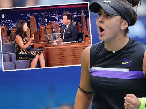 Bianca Andreescu, favorita vedetelor de la Hollywood! Pe ce vedetă a provocat la o partidă de tenis