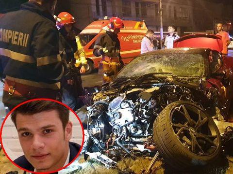Bolidul Aston Martin făcut praf de Mario Iorgulescu nu era asigurat! Detalii despre accidentul cumplit! Mario nu e la prima ispravă de genul acesta