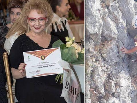 Mihaela Tatu s-a apucat de alpinism la 56 de ani! Imagini demențiale cu vedeta la înălțime! FOTO