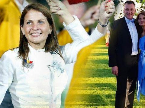 Fosta mare campioană Laura Badea a făcut nunta de porțelan FOTO