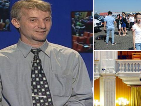 """Cameramanul care s-a aruncat de la balconul Parlamentului, despre fiul lui: """"Le este teamă să lucreze cu un băiat autist!"""""""