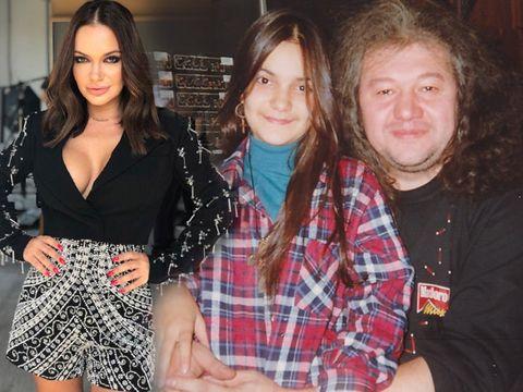 Cum arăta Andreea Antonescu la 12 ani, când a înregistrat primul album din viaţa ei! Uite-o pe Andreea în studio, alături de un compozitor celebru!