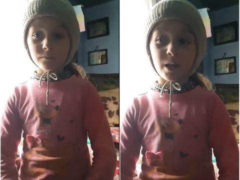 Imagini sfâșietoare cu Ioana, fetița de 8 ani din Mânzătești, ucisă și abandonată pe marginea drumului. Copila visa la un ghiozdan și o păpușă Barbie