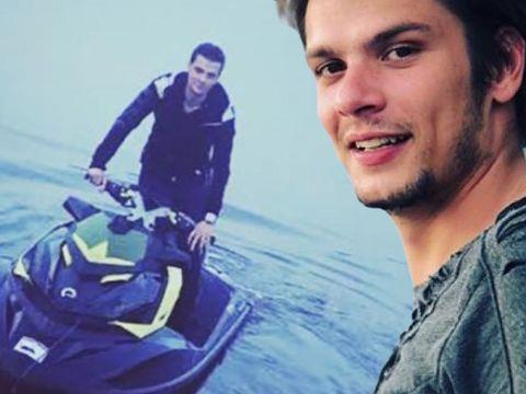 """Mario Iorgulescu """"s-a dat"""" pe Snagov cu un skijet cu 260 CP!!! """"Monstrul"""" fiului LPF atinge 120 km/h pe apă"""