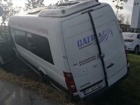 Accident cumplit lângă Craiova! 14 persoane au fost implicate! În ce stare sunt victimele