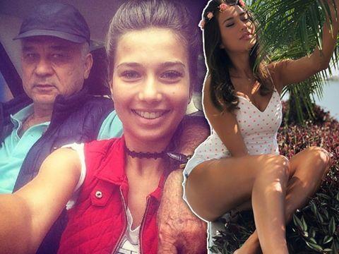 Ce sexy pozează fata lui Anghel Iordănescu! Maria are 23 de ani și lucrează în televiziune FOTO