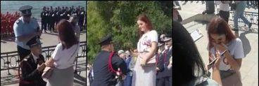 Un pompier din Constanța și-a cerut iubita de soție în văzul tuturor! Alex și Loredana sunt împreună de câteva luni, dar se vor căsători
