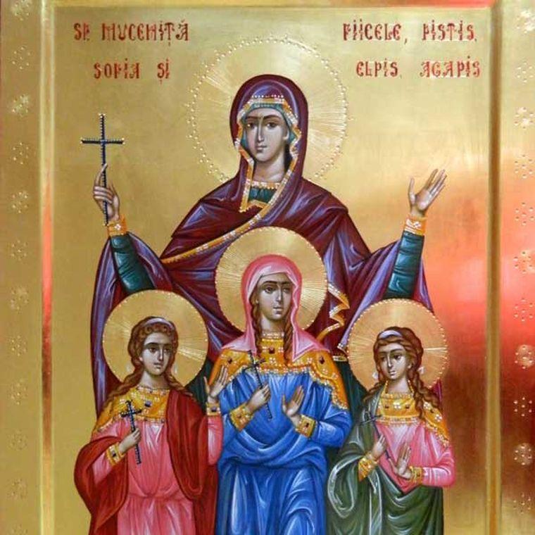 Sărbătoare 17 septembrie 2019. Rugăciune către Sfânta Muceniță Sofia