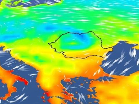 Valul polar în România. Prognoza meteo pe două săptămâni