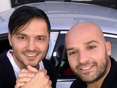 Andrei Ștefănescu s-a căsătorit în secret! Imagini de la nuntă