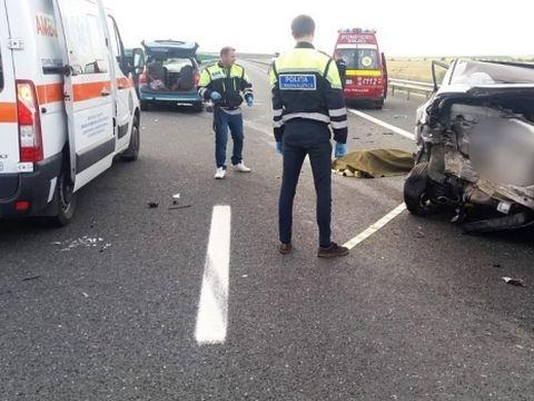 Accident grav între București și Urziceni! 14 persoane au fost rănite!