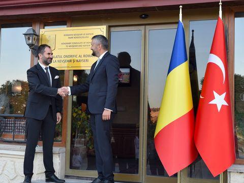 Ambasada României în Republica Turcia a inaugurat Consulatul Onorific al României la Nevsehir și Kayseri în regiunea istorică Cappadocia