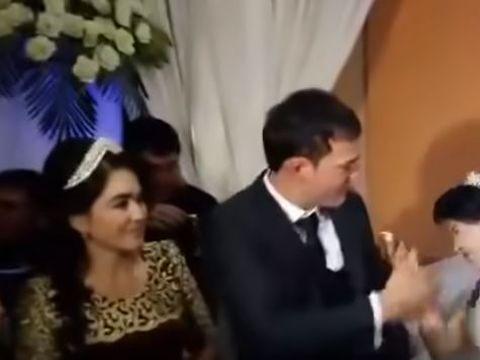 Mireasă bătută în ziua nunții! A căzut pe spate de la lovitură și întreaga scenă a fost filmată