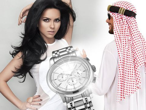 Inna, vizită privată la palatul unui emir din țările arabe! La plecare, i-a oferit un ceas Rolex de zeci de mii de euro!
