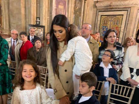 Elena Băsescu,  prima apariție publică după despărțirea de iubit!  A fost cu toți cei trei copii