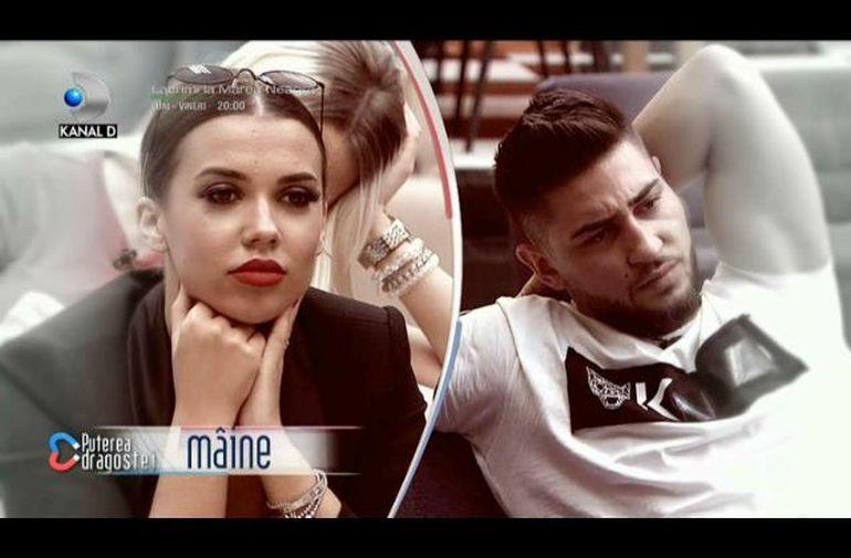 Promo Puterea Dragostei 8 octombrie. Bogdan Mocanu și Andra s-au despărțit, după ce concurenta a dansat cu Andy