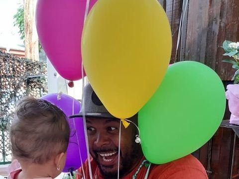 """Prima fotografie cu fetița cea mică a lui Cabral! """"Ea e Namiko"""" - Este prima poză în care i se vede fața"""